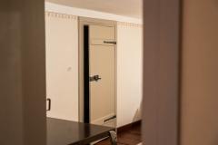 Tür zum Schlafzimmer