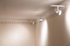 Beleuchtung im Wohn-/Arbeitszimmer